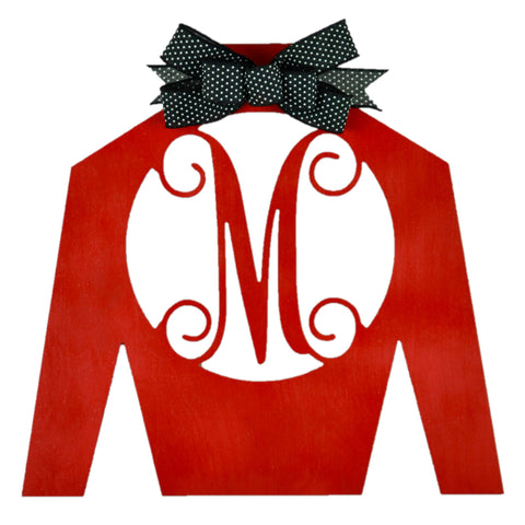 Kentucky Derby Monogram Jockey Silk | LOTS of colors!