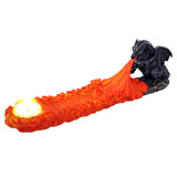 Dragon Flames Incense Burner