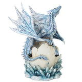 Dragon Hatchling on Crystal