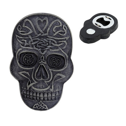 Celtic SkullMagnet & Bottle Opener