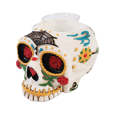D.O.D Skull Tealight Candle Holder