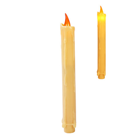 LED White Candles Pack of 3