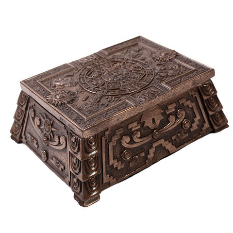 Aztec Box Bronze