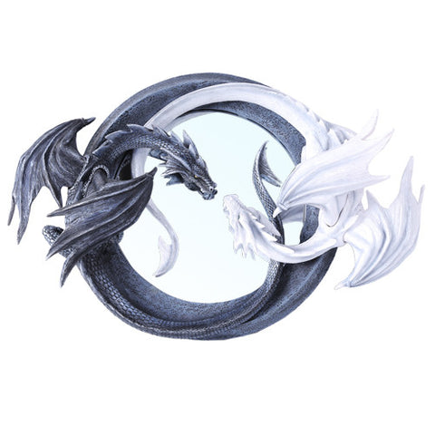 Dragon Ying Yang Mirror
