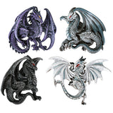 Dragon Magnets Set of 4