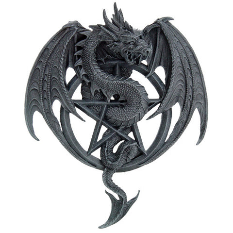 Pentagram Dragon Plaque