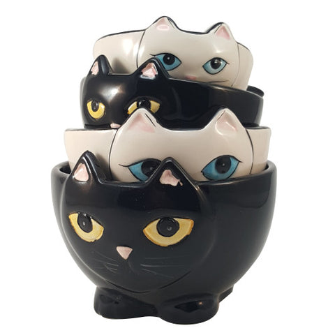 Cat Lovers Measuring Cup Set