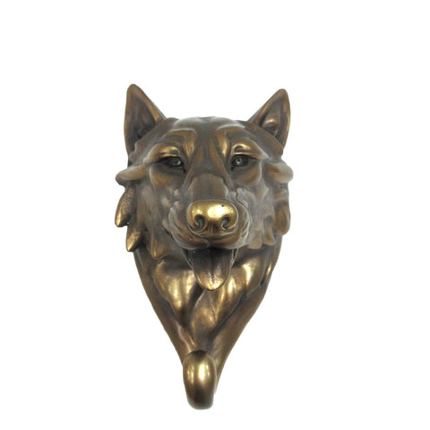 Wolf Single Hook Wall Hanger