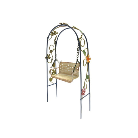 Metal Garden Swing Set