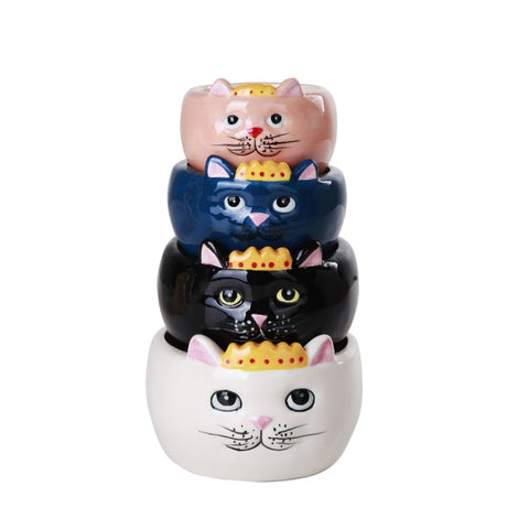 Queen Cats Measuring Cups