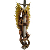 Flame Blade Dragon Sword & Holder