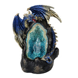 Lighted Geode Guardian Dragon
