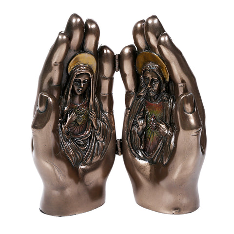 Sacred Hearts Prayer Hands