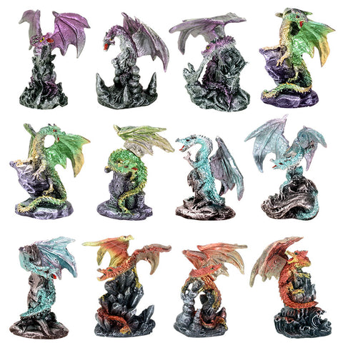 MINI DRAGONS SET OF 12
