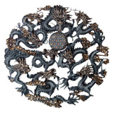 Oriental Nine Dragons Plaque