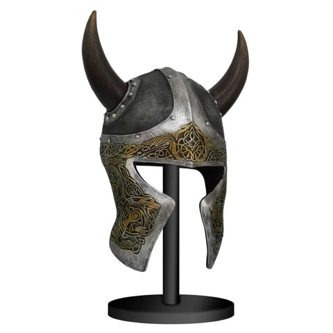 Viking Helmet Sculpture(stand is not included)