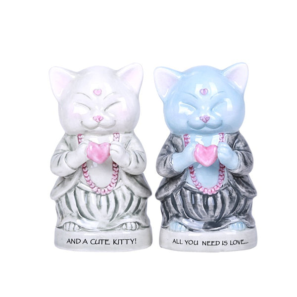 Master Meow Salt & Pepper Set - Summit Collection Gifts