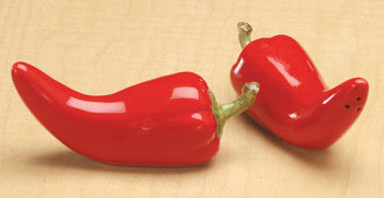 Salt & Pepper Shaker - Chili Pepper