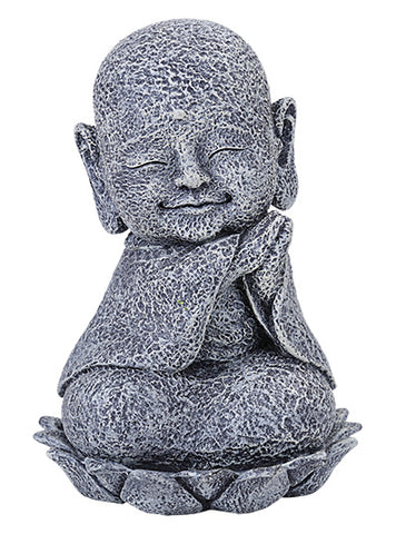 Seated Jizo with Head Tilted