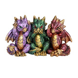 Dragon See Hear Speak No Evil