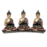 Three Buddha Candle Holder