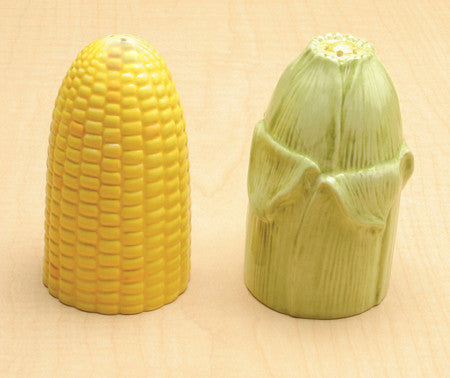 Salt & Pepper Shaker - Corn