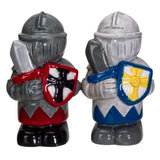 White and Black Knights Salt & Pepper Set