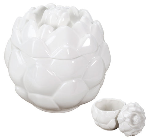 Artichoke Container White