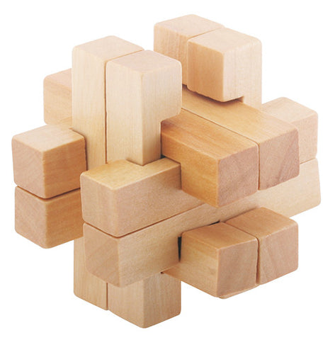 FLW - Square Hiddle Rattle 3D Block PUzzle