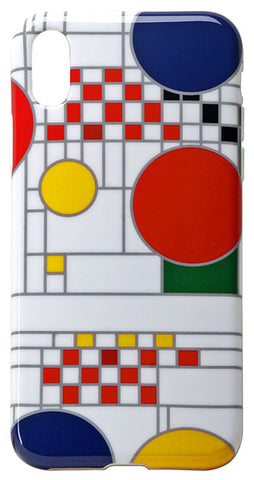 iPhone X Case FLW Coonley Playhouse White