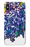 iPhone X Case Tiffany Wisteria