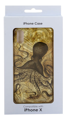 iPhone X Case Kraken