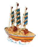 3 Mast Dark Sails Jeweled Box