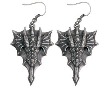 Dragon Head Earrings
