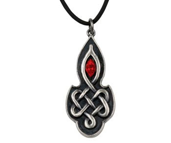 Celtic Ruby Pendant