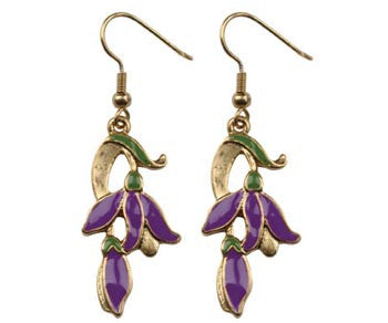 Flower Vine Earrings