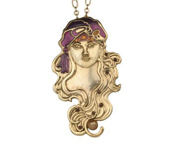 Girl with Turban Pendant