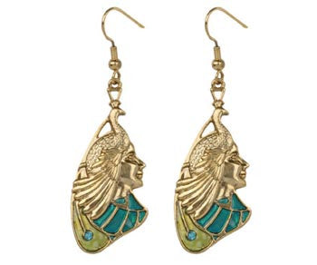 Peacock Maiden Earrings
