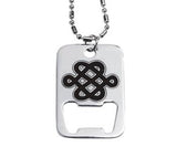 Celtic Dog Tag Bottle Opener