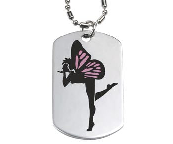 Fairy Dog Tag