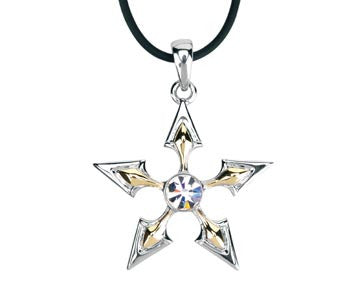 Two Tone Star Pendant
