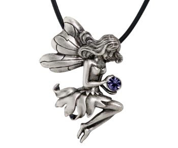 Fairy Seated Pendant