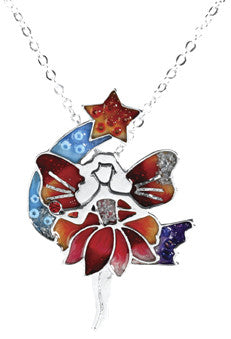 Red Fairy Pendant