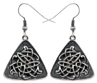Celtic Triangle Earrings