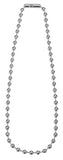 "19"" Ball Chain Necklace  (5mm Dia.)"