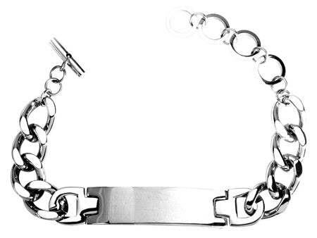 Curb Chain Tag Bracelet
