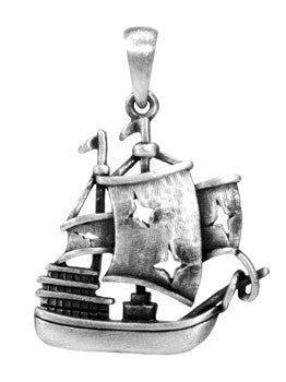 The Black Pearl Pendant