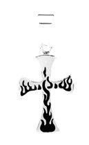 Flaming Cross Pendant