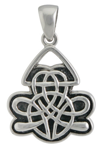 Celtic Shield Pendant 316L