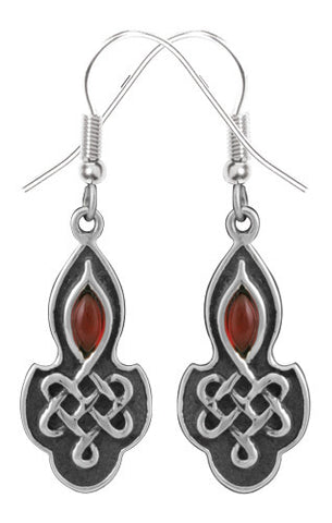 Celtic Ruby Earrings 316L